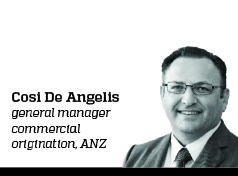 Cosi De Angelis, General Manager Commercial Origination, ANZ
