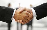 handshake  x