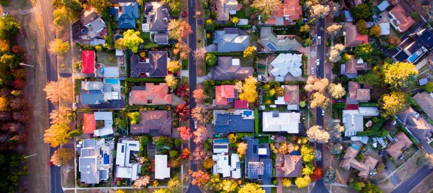 aerial houses ta