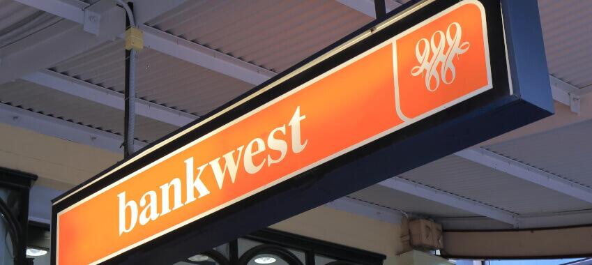 bankwest signage ta
