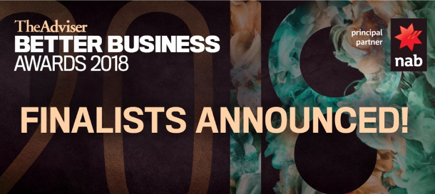 Finalists, Better Business Awards 2018