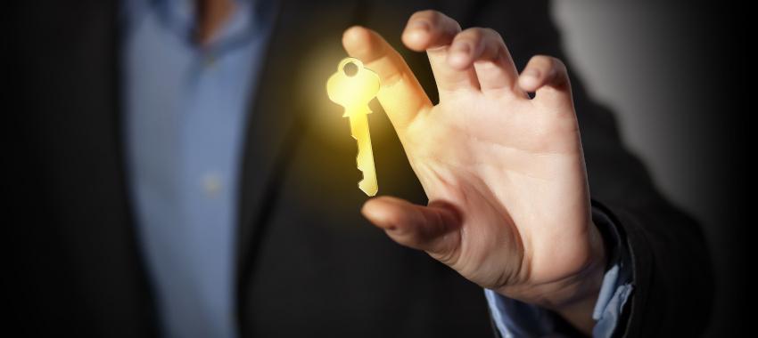 broker hand key