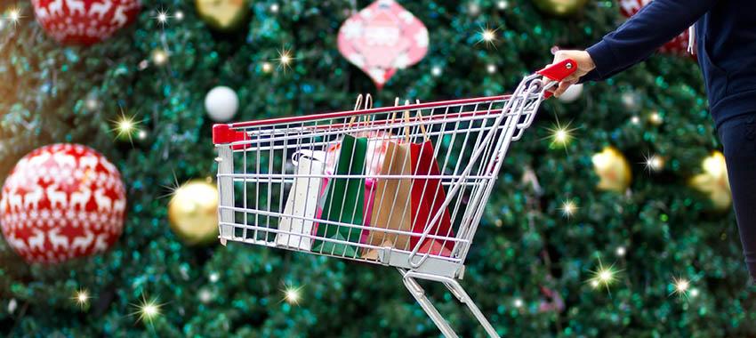 christmas shopping spending ta