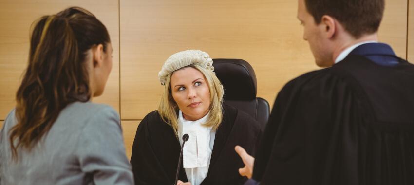 court lawyers judge ta