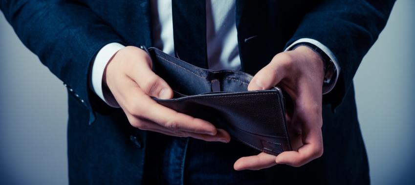 empty wallet ta