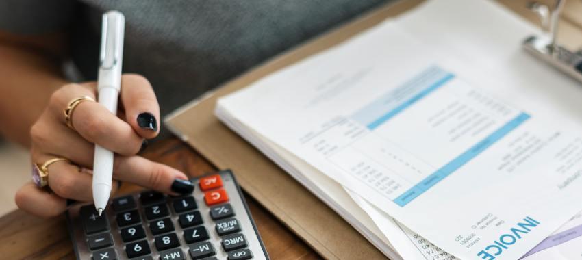 finance calculator paper ta