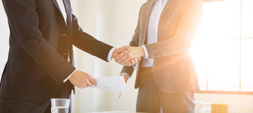 handshake business ta