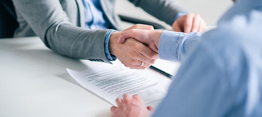 handshake contract ta