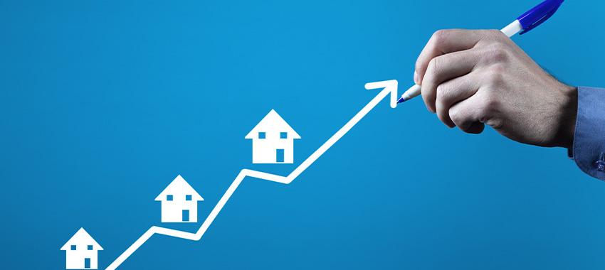 mortgage graph upward ta