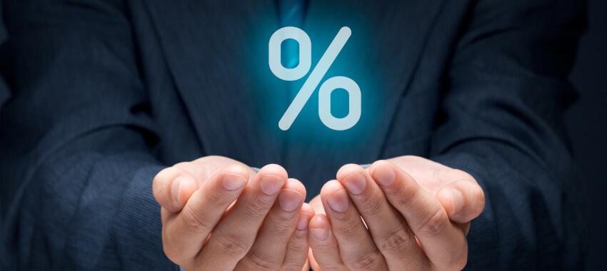 percentage ta