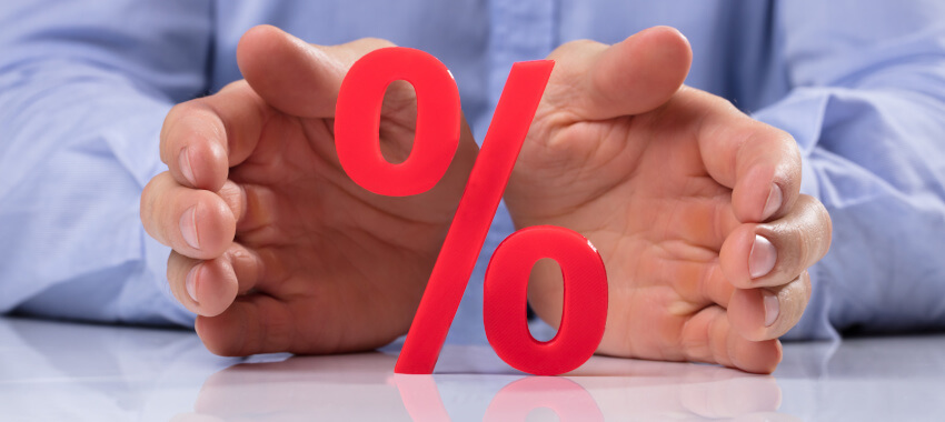 red percent rate ta