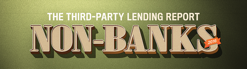The Third Party Lending Report, Non-Banks 2016