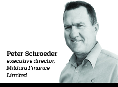 Peter Schroeder, Executive director, Mildura Finance Limited