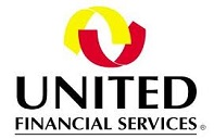 united financial services logo  x