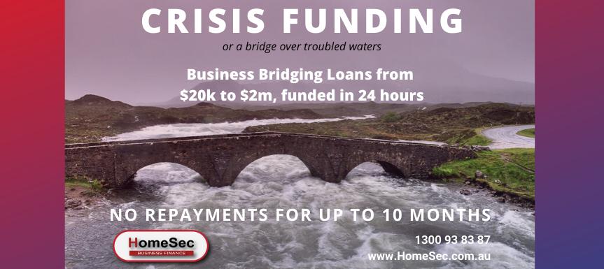 crisis funding banner   homesec business finance