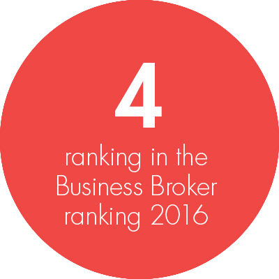 Ian Robinson, Business Broker Ranking