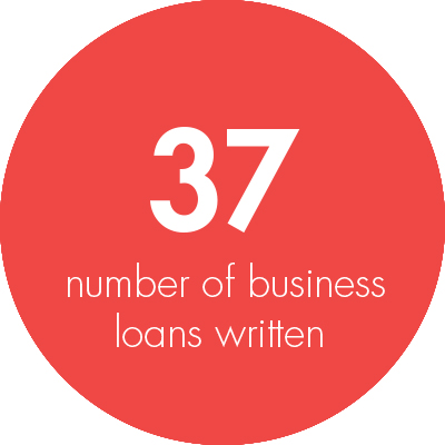 Ian Robinson, number of loans written