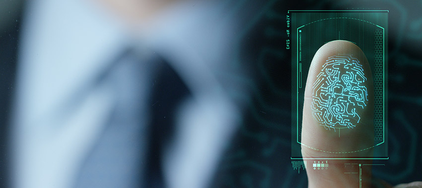 digital identification fingerprint ta