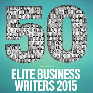 Elite Business Writers 2015