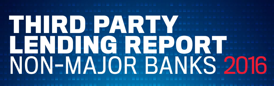 Third-Party Banking Report 2015 – Non-Major Lenders