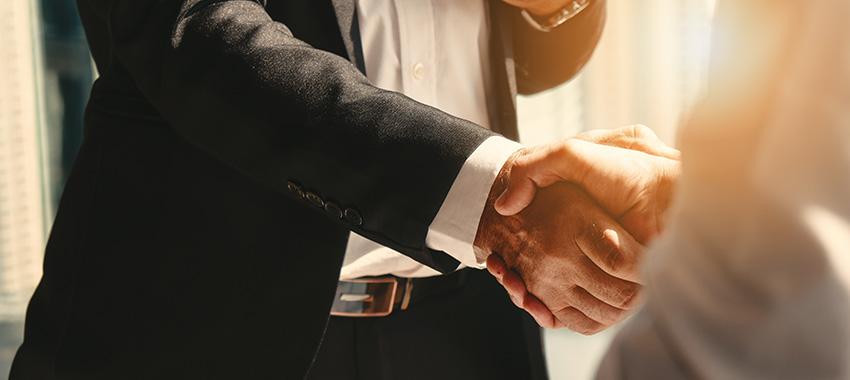 handshake ta