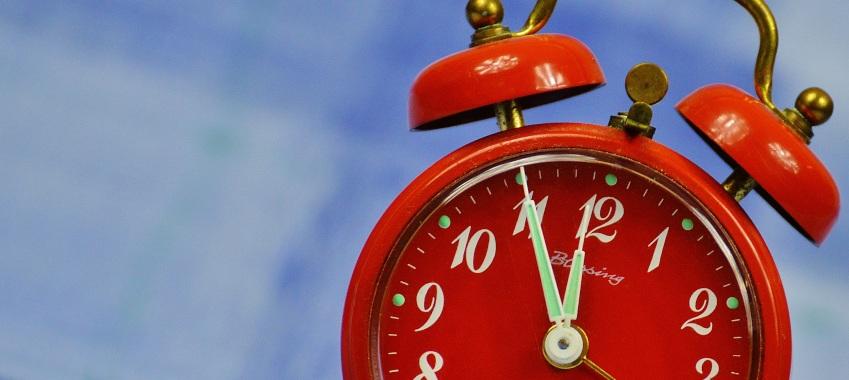 alarm clock time