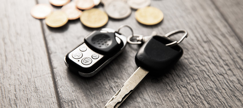 car keys coins ta