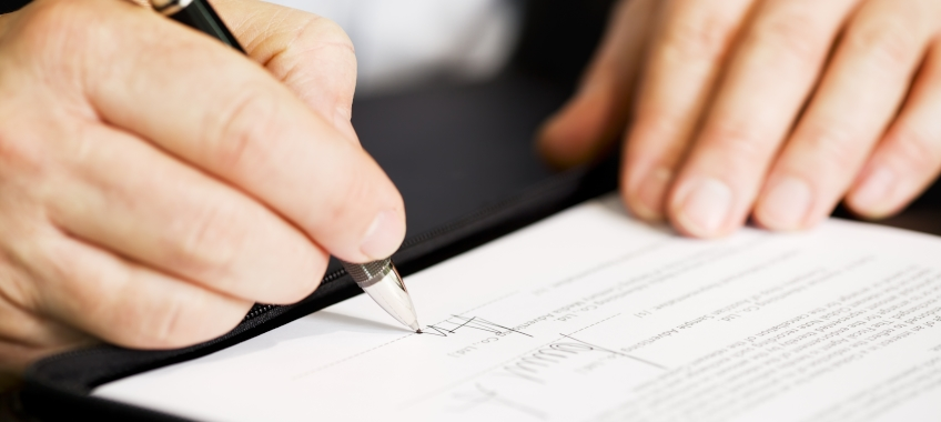 form signature