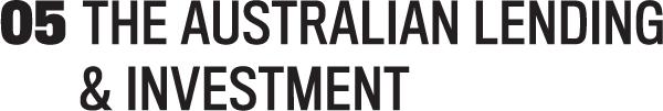Australian Lending and Investment