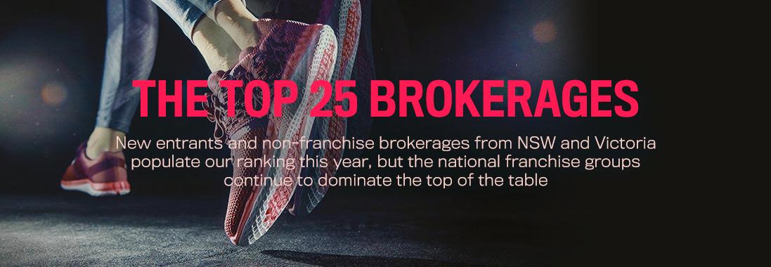 Top 25 brokerages