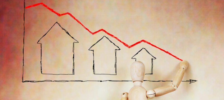 property prices fall ta